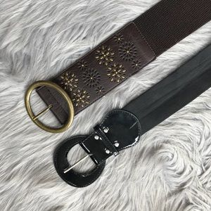 Set of Two Waist Belts